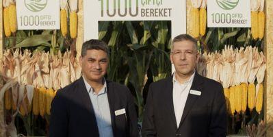 1000 çiftçi 1000 bereket projesinde ilk hasat