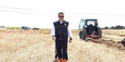 Bakan Pakdemirli, Elektrikli Traktörün Deneme Sürüşünü Gerçekleştirdi