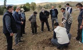 Bolu'da yüzde 75 destekle toprak analizi