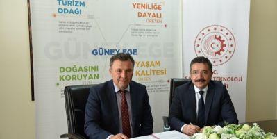 Çivril İlçe Tarım Ve Orman Müdürlüğü Ve GEKA, Ortak Proje Sözleşmesi İmzaladı