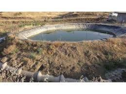 Gercüş'te Köylüler Hibe Desteği Sayesinde Sulama Göleti Yaptı
