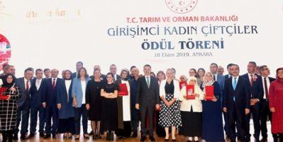 Girişimci Kadın Çiftçi Ödülleri Türkiye Birincisi Van İlimizden
