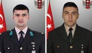 MSB acı haberi duyurdu: Kuzey Irak'ta 2 asker şehit oldu