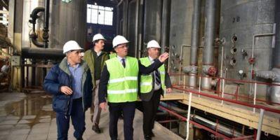 Tokat Valisi Balcı; Turhal Şeker Fabrikası Türkiye'nin Gözbebeğidir